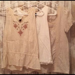 Bundle of small and medium women's tops
